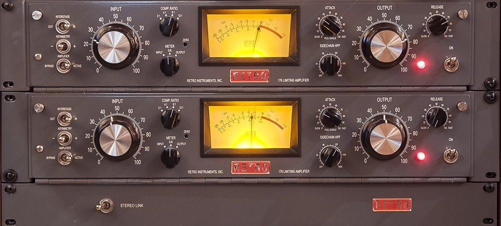 Retro 176 Tube Compressor/Limiter (stereo set)