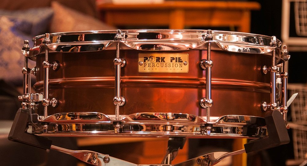 Pork Pie 5 x 14 Brass Snare