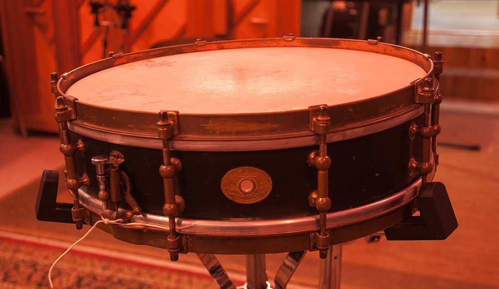 Ludwig 3 1/2 x 14 Wooden 1920s Vintage