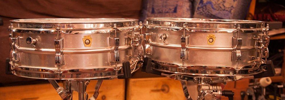 Ludwig 5 x 14 Aluminum Acrolite Snare Vintage