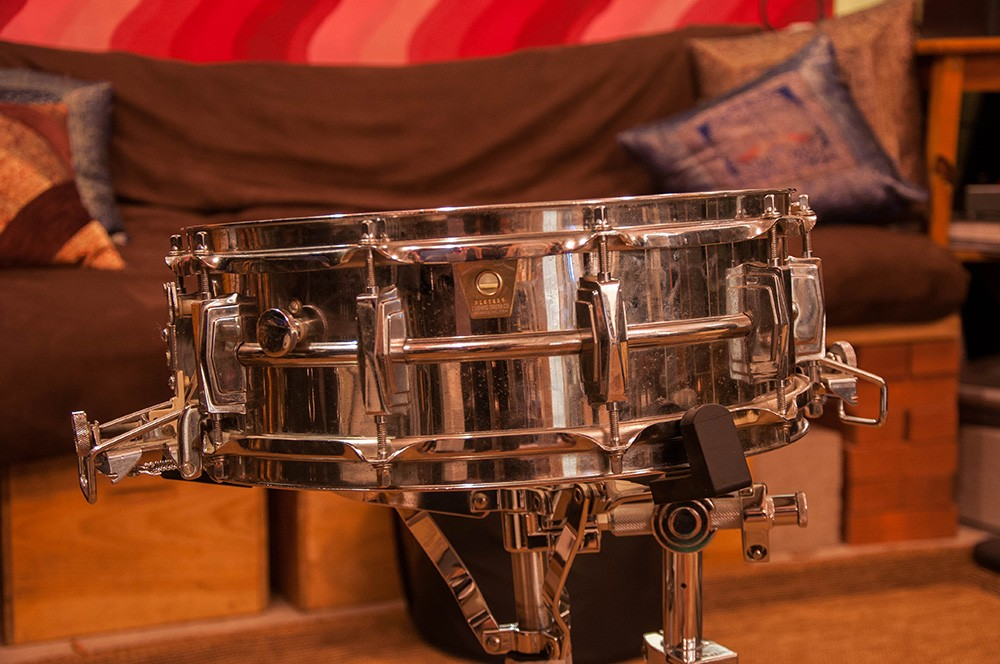Ludwig 5 x 14 Supersensitive Chrome Orchestral Vintage