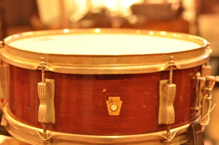 Ludwig 5 x 14 Wood Shell Snare Vintage