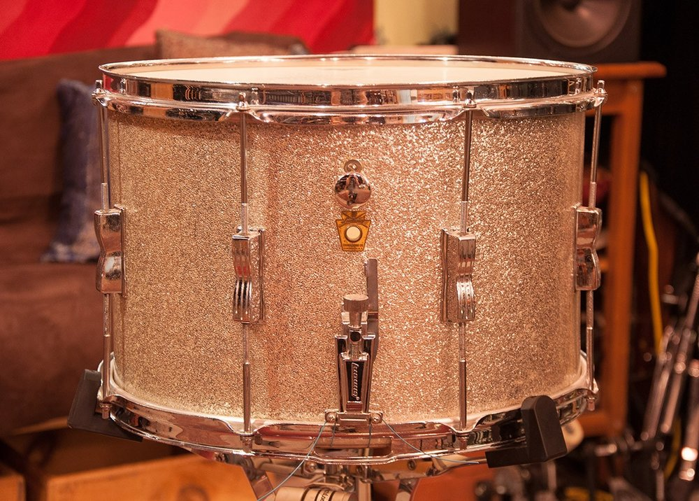 Ludwig 9 x 15 Marching Snare Vintage