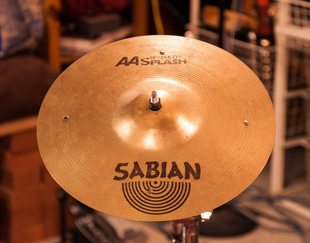 Sabian 10″ AA Splash