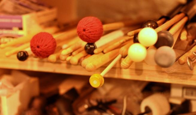 Various Drumsticks, Mallets, Brushes