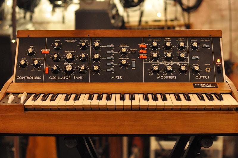 Moog MiniMoog Synthesizer (vintage, 1978)