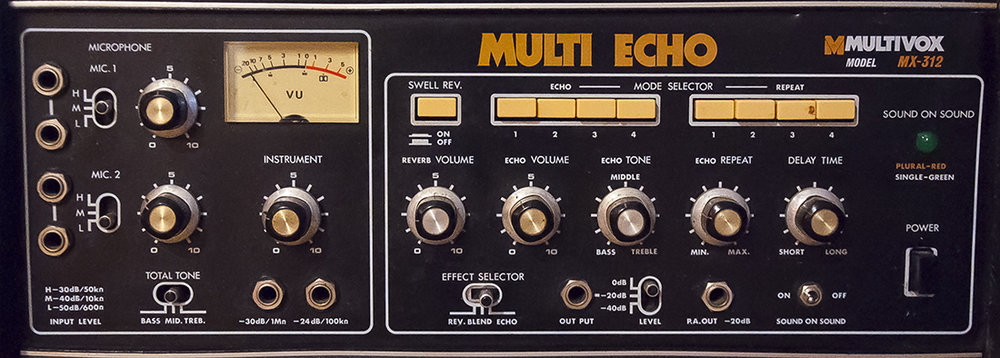 Multivox Multi-Echo Tape Delay