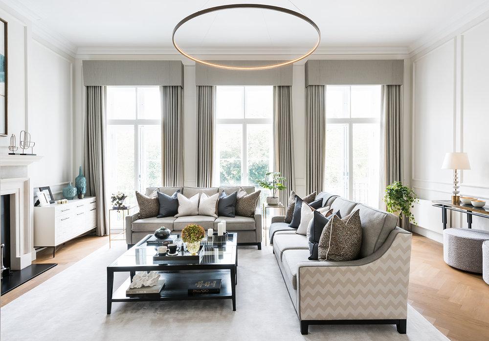 Cadogan Place | Luxury Interiors U0026 Show Homes U2014 Knight Frank Interior  Services