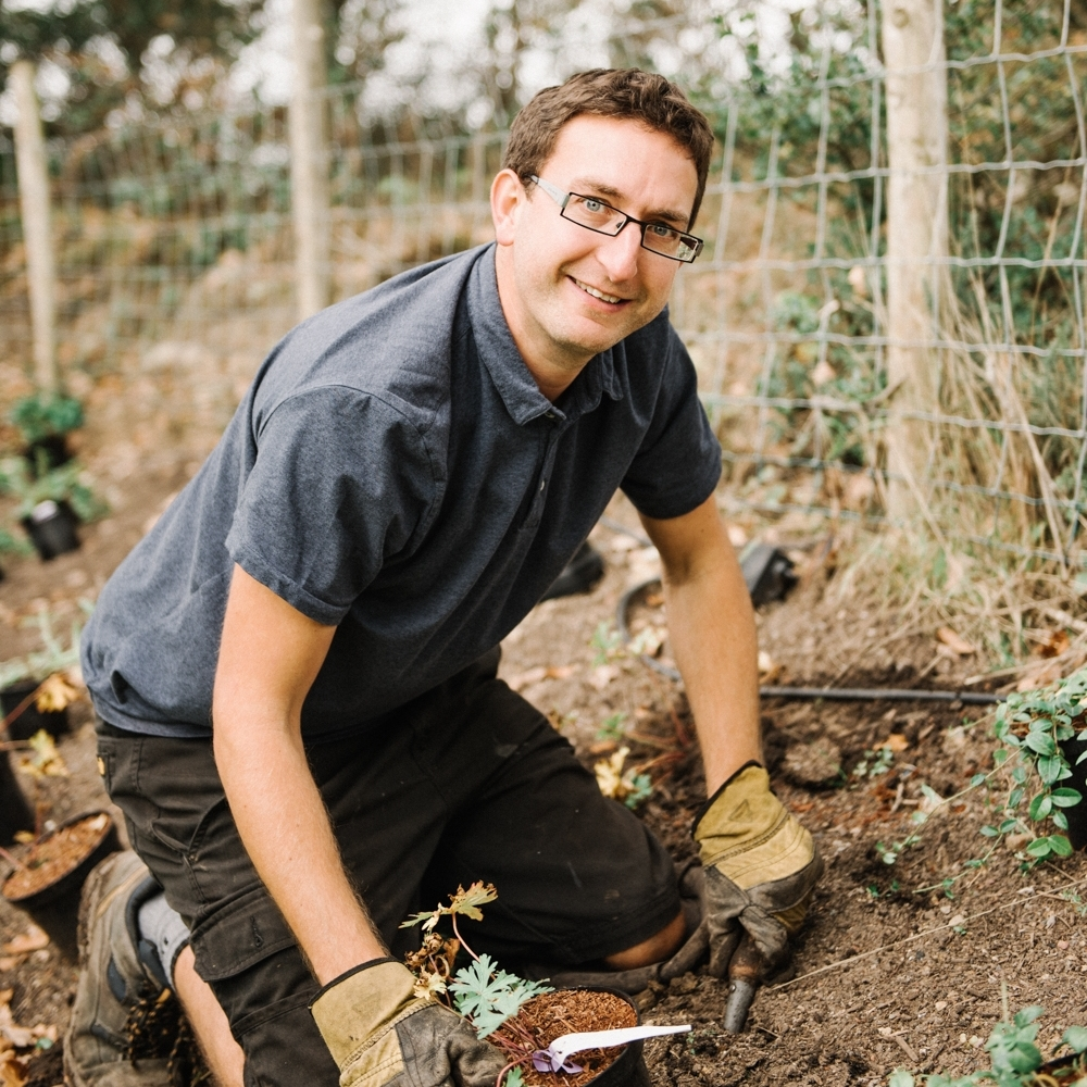 CHRIS SMITH - You'll meet Chris on site when we're ready to start the planting phase and install the all-important finishing touches to your outdoor space.Whether it's trailing climbers along walls, staking trees, assembling garden furniture, installing BBQ's or hanging the occasional string of fairy lights - Chris is our go-to Garden Handy Man!