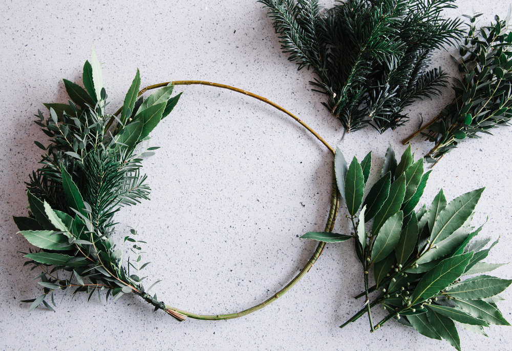 DIY-wreath-making
