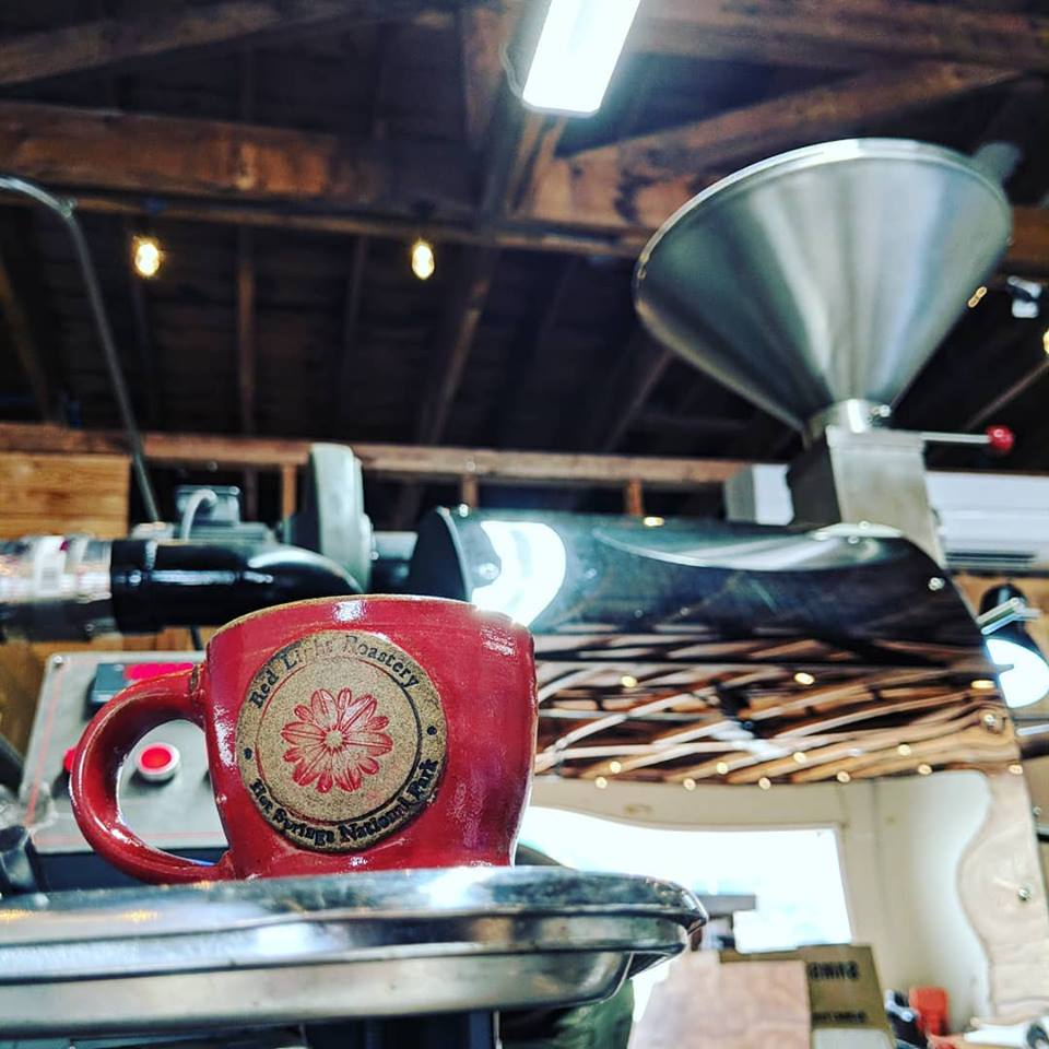 The Coffee - We are proud to serve Red Light Roastery Coffee. A locally owned and loved company just down the road from us on Park Avenue roasts our beans every Tuesday so you know every cup you get is always as fresh and delicious.