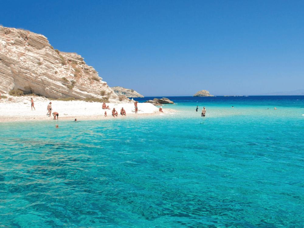 Patmos - Aspra Nisia - Arkoi - Patmos