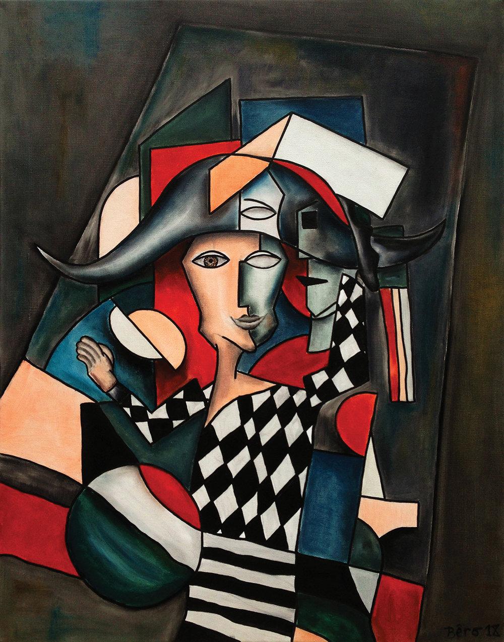 Arlequin  by Alain Beraud; $11,300
