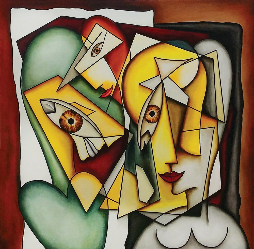 Les Dames de Coeur  by Alain Beraud; $11,150