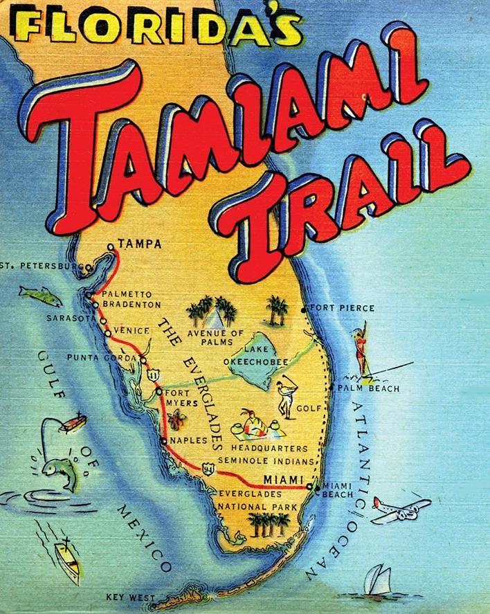 Tamiami Trail c. 1940s