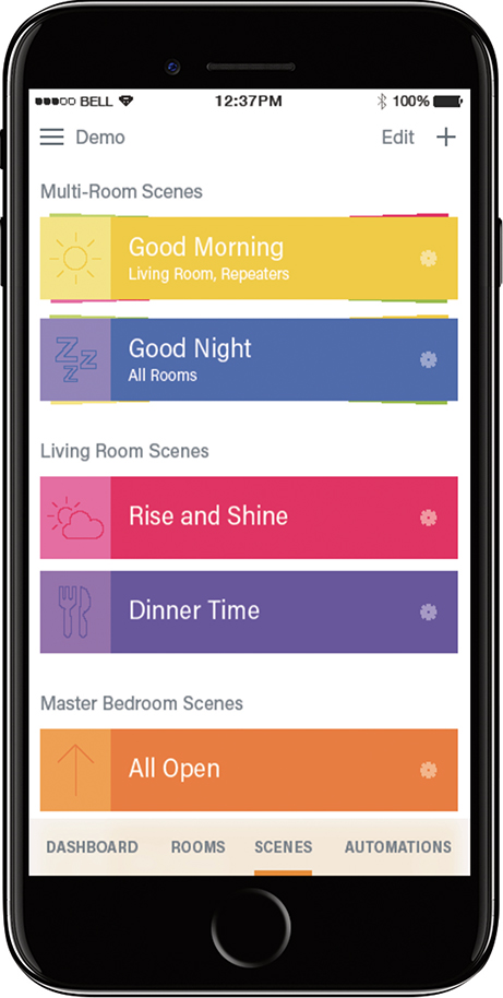 Companies now offer a range of home technologies that can be controlled through apps right on your phone.