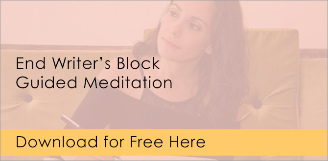 End writer's block guided meditation