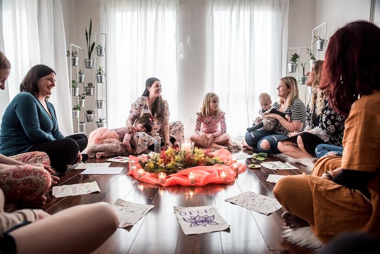 Birth Blessing Woman's circle