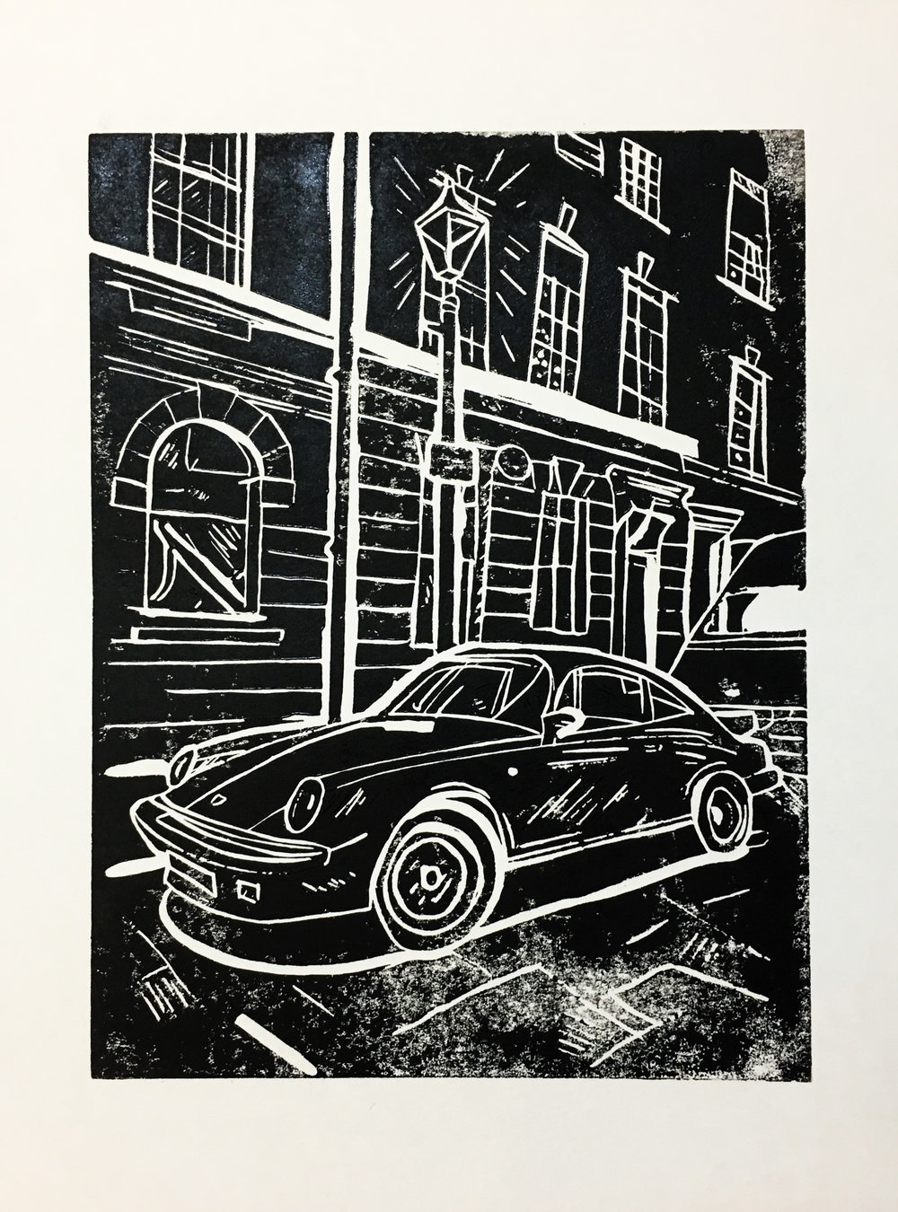 Porsche on Princelet St