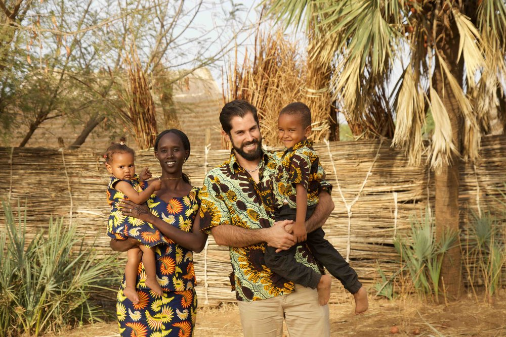 Boyette Family, Nuba Sudan