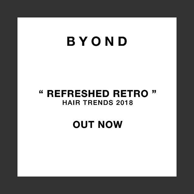 """(Link in Bio) Fashion Week hair expert Boyd Meilhon chats """"Refreshed Retro"""" for 2018's trends _ @boyd_sa @karo_hair #HairTrends2018 #Byond #Blog #Style #Beauty #Trends"""