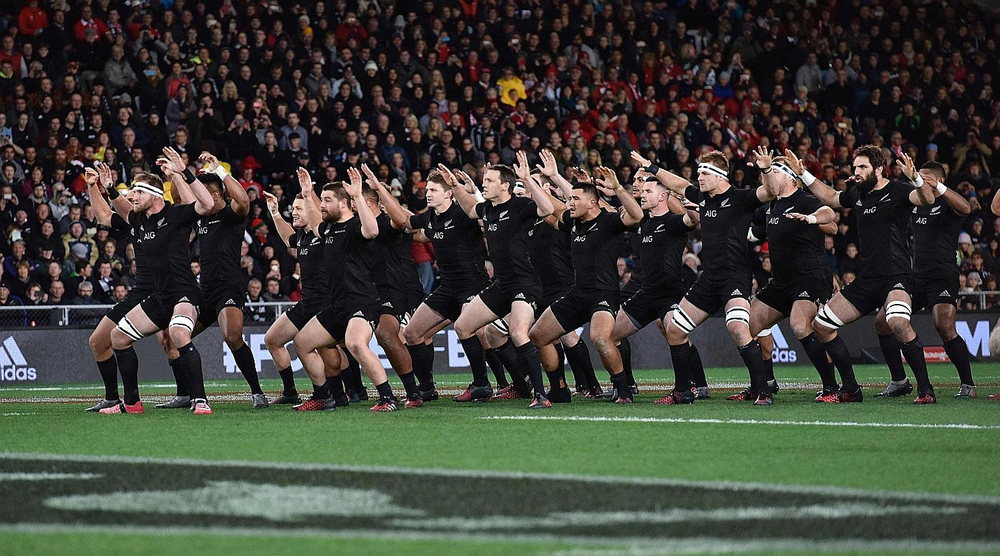 "The New Zealand All Blacks practise the ""sweep the shed"" concept, where all players have to humbly sweep the locker room after each game. Humility forms the foundation of an All Black. PHOTO: AGENCE FRANCE-PRESSE"