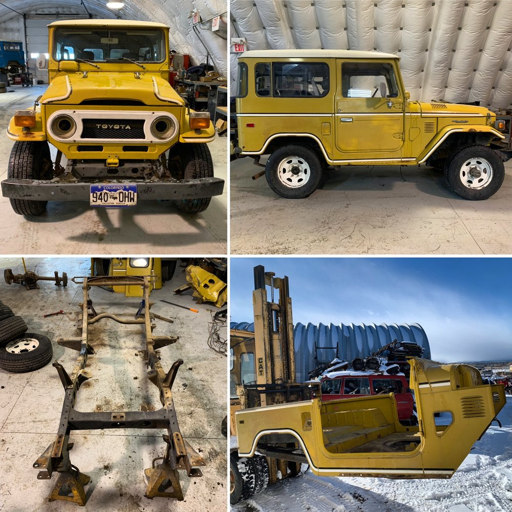 Current Restoration In Progress - 1978 Toyota FJ40 - Mustard Yellow (follow #1978MustardFJ40ClassicCruisers on Instagram to keep up to date on the project)