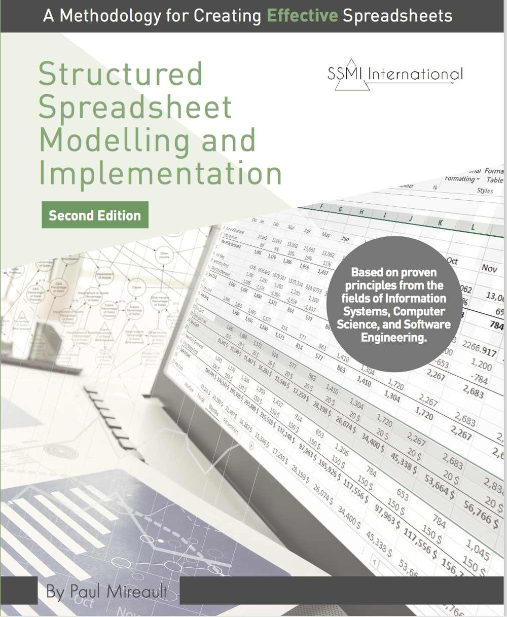 Structured Spreadsheet Modelling and Implementation: A Methodology for Creating Effective Spreadsheets, Second Edition -
