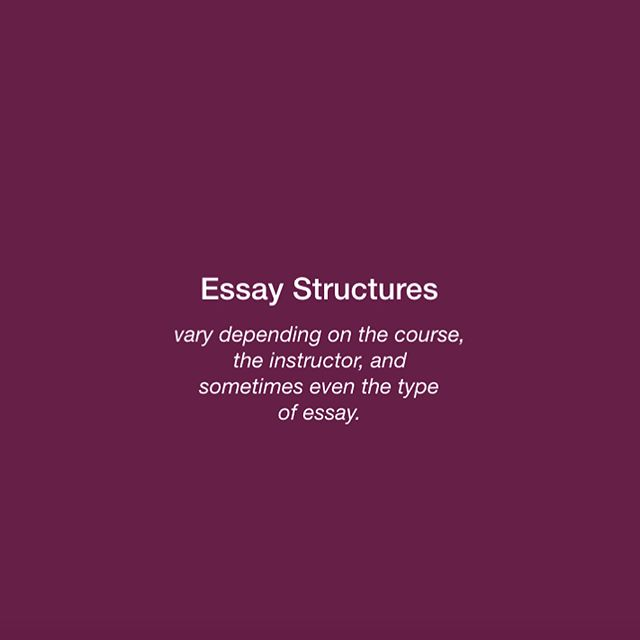 College Essay structures vary. That's why it's so important to engage with the instructions and your teachers. #englishasasecondlanguage #eslbuzz #esl #internationalstudents #essaywriting #essay #essayhelp #essaytips