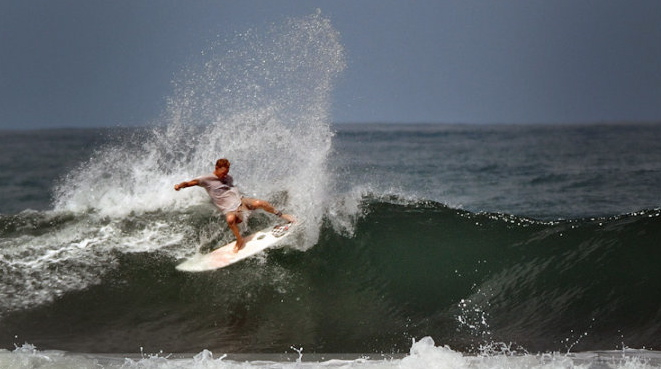 Owner Dustin Estes in Costa Rica