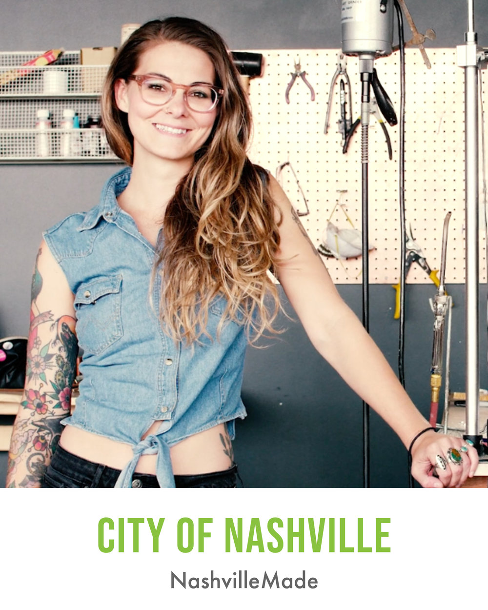 City of Nashville NashvilleMade