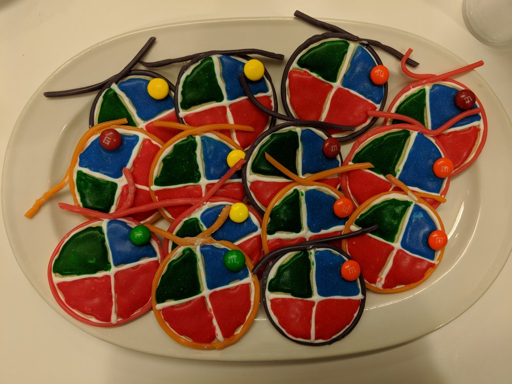 Nucleosome Cookies, complete with M&M histone modifications!