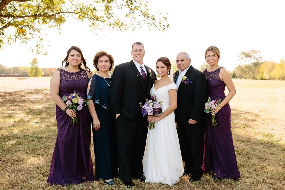 Photo by Megan Hobbs Photography. I've known this family for almost 13 years and the bride and her sister on the right got married at Pepper Sprout Barn!