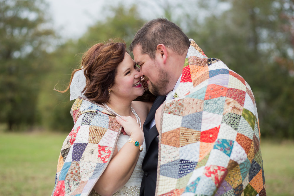 Wrap yourself and your love in a quilt! Morgan Corbett Photography