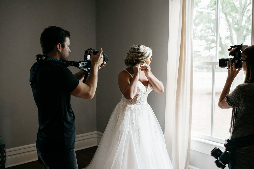 Hiring the right wedding photography is key. Megan Hobbs Photography & Connor Price Videography