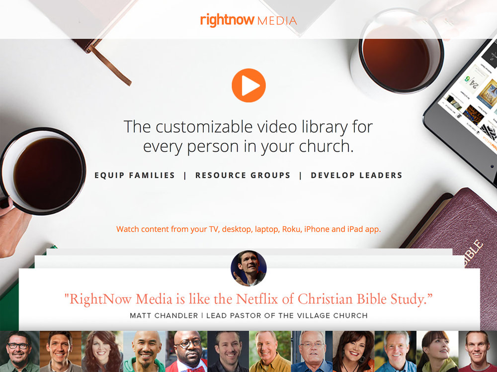Click the image to get a glimpse of what RightNowMedia.org contains.