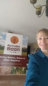 Becky Olson of Autumn Moon Farm.