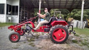 """I remember when I delivered the tractor it was their farm manager Kayla who drove off with it smiling. It was really awesome that a woman was an integral part of testing out the tractor."""
