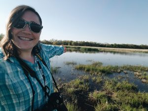 Landra Reece in Wetland