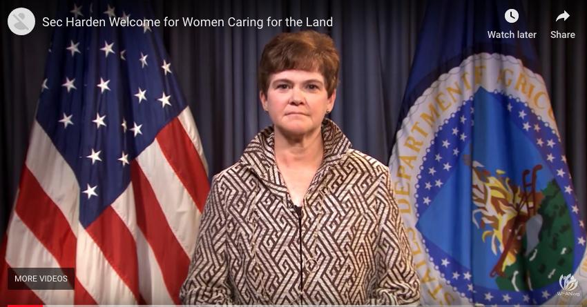 Secretary Harden's Women Caring for the Land Welcome - This video showcasesUSDA Deputy Secretary Krysta Harden's warm welcome to the Women Caring for the Land program.