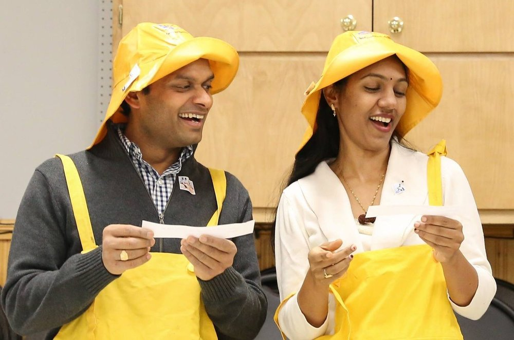 Dr. Arjun Rayapudi and Dr. Shobha Rayapudi