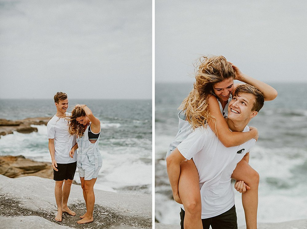 This girl has the craziest, most beautiful surfer hair …and the wind was loving it. :)