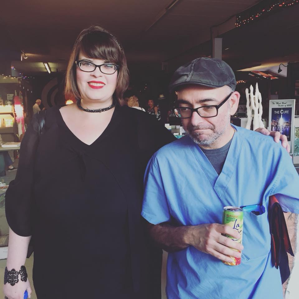 Poet Lori Lassetter Hamilton and hubs