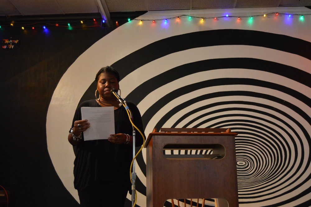 "Ashley M. Jones reading from ""dark/thing"""