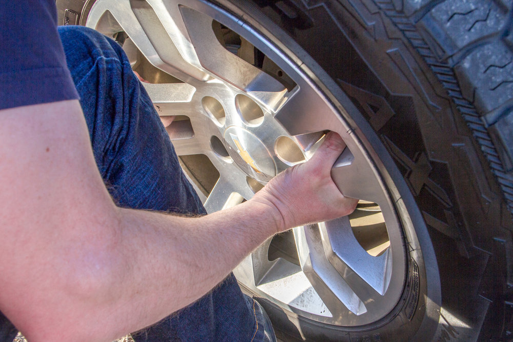 Crunching or Pinching Your Fingers - Maneuvering and lifting a wheel and tire manually can put your fingers in some pretty tight spaces. Spare your digits some pain, and lift with your WheelGuider.