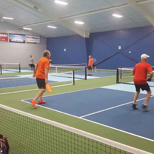 HOP courts in action! #pickleball #leland