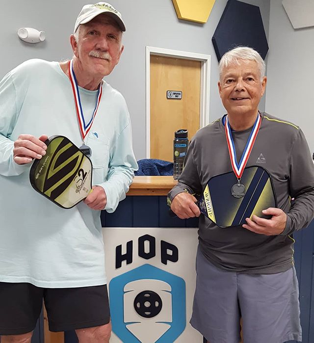 Congrats to Bill and Tim on the silver medal in 3.0 men in Dink 4 Pink tournament.