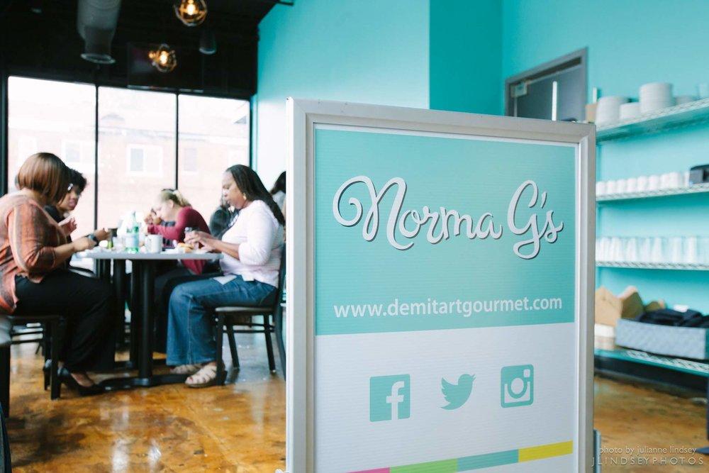 Norma G's people eating.jpg
