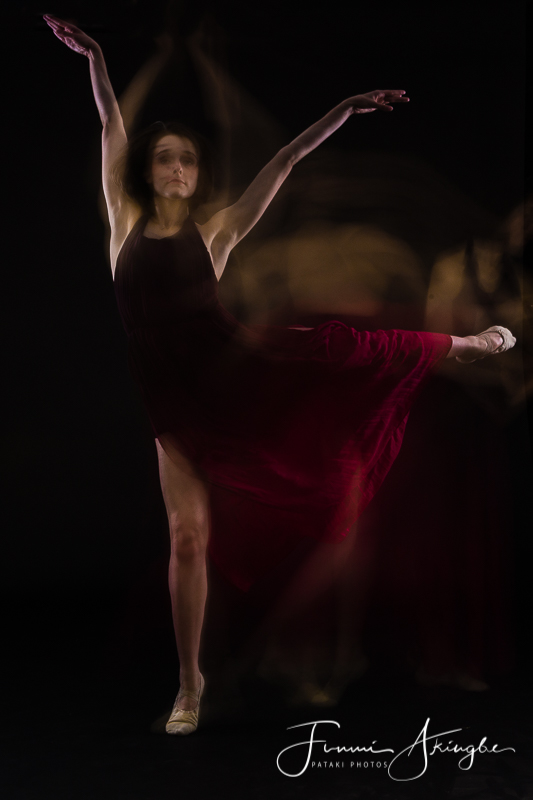 Dancer in motion series