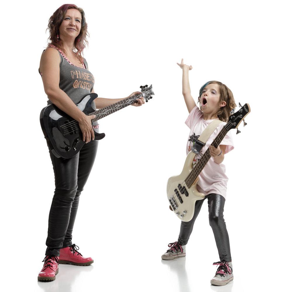 AMY ESP &AVERY CORBIN - Mother & DaughterRock Stars